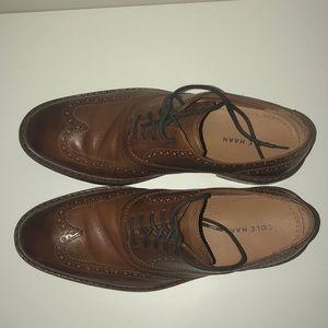Cole Haan wingtips dress shoes